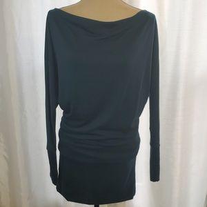 J mode Dark Teal Mini Boatneck Dress